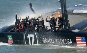 Oracle Team USA retains the America's Cup 9/25/13