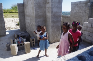 Children-only Birthday Party, Isle a Vache, Haiti